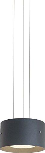 Oligo Trofeo Pendelleuchte LED mit Gestensteuerung, grau matt