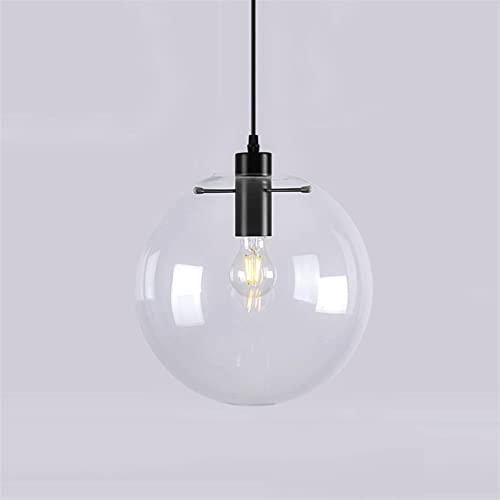 Accesorio de iluminación Luces colgantes de bola de vidrio de metal Transmisión de alta luz europea Lámparas de suspensión de lujo Nordic Post-Moderno Tema de Hogar Arte Colgante Iluminación Ligeres L