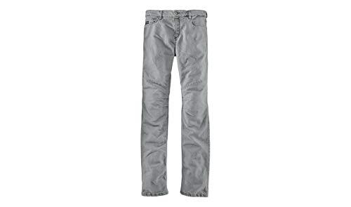 Pantalones vaqueros originales BMW para moto FivePocket para hombre, color gris, talla BMW 34/34
