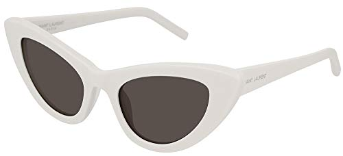 SAINT LAURENT SL 213 LILY IVORY GREY avorio grigio sunglasses occhiali da sole