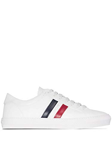 Moncler Luxury Fashion Herren 4M7144001A9A002 Weiss Leder Sneakers | Herbst Winter 20