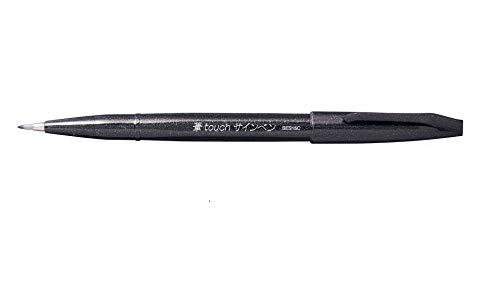 Caneta Pincel Pentel Brush Sign SES15C-A - Preta