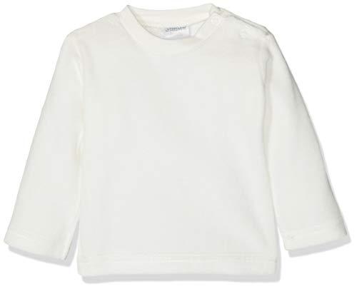 Jacky Unisex Nicki-onderlegger met lange armen, voor baby's en peuters, maat: 80, leeftijd: 9-12 maanden, off-white, 140030