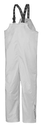Helly-Hansen Workwear Men's Processing Waterproof Bib, White - Large