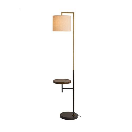 WYZ staande lamp LED energiestaande lamp, staande lamp met draadloze charging woonkamer modern slaapkamer nachtdecoratie leeslamp verticale lamp [energieklasse A ++]