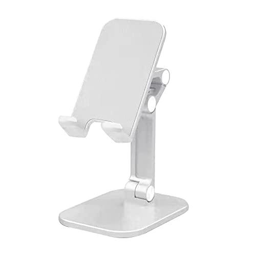 Sonoaud Support de téléphone portable et tablette multifonction pour voyage - Blanc
