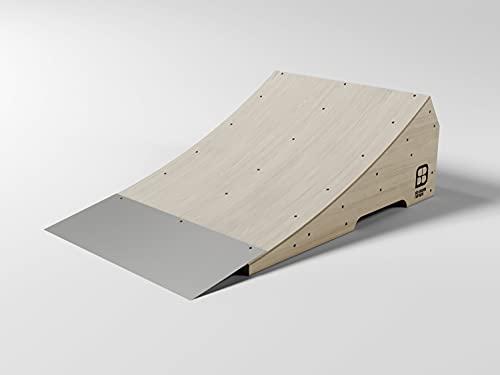 "SB Skate Ramps | Kicker Ramp | Street Skate | da Costruire | Set per Giardino o Viale D'Accesso | Skateboard, BMX & Scooter | Set Legno Durevole | Rampa Jump And Trick | 12""H x 2'W x 3'L"