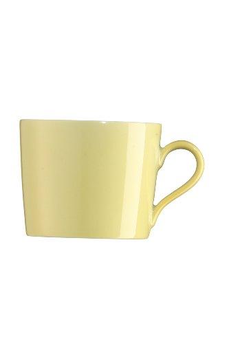 Arzberg Tric Gelb Kaffee-Obertasse, Porzellan, Yellow, 28.1 x 19.3 x 8.9 cm