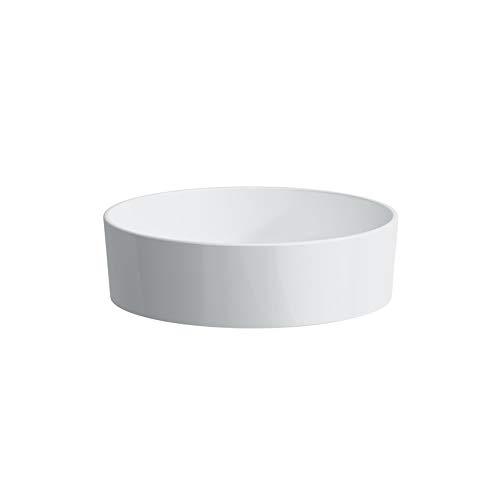 Laufen Kartell Waschtisch-Schale, ohne Hahnloch, ohne Überlauf, 420x420x135, Farbe: Grau matt