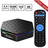 WISEWO Android 7.1 TV Box Smart TV Player Set Top Box HD Video...