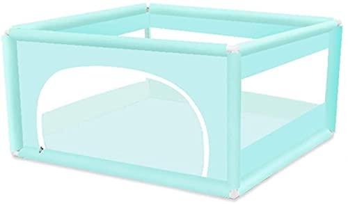 SpiceRack Parque para bebés, diseño de Cremallera de Valla para bebés Gemelos Visibilidad Transpirable de Red Interior al Aire Libre 5 Colores, 2 tamaños