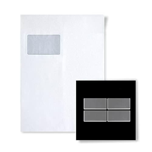 MUESTRA Mosaico S-Bauhaus-S-S-M Colección Bauhaus Acero inoxidable pulido espejo