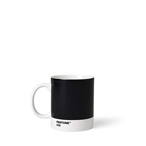 Pantone Kaffeetasse, Porzellan, Black 419, 8.4 x 8.4 x 12.1 cm