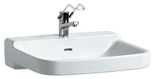 Laufen Waschtisch barrierefrei Laufen PRO A mittig 650x550 weiß, 8119530001041
