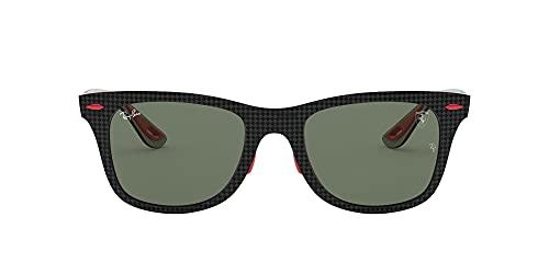 óculos de sol Ray Ban mod rb8395m f054/71 Scuderia Ferrari Collection