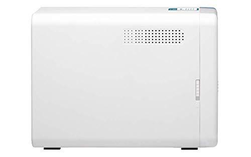 Qnap TS-251D-2G Desktop-NAS-Gehäuse mit 2 Schächten - 2 GB RAM - 2,0 GHz Dual Core-Prozessor mit AES-NI-Verschlüsselung und 4K-Hardware-Transcodierung