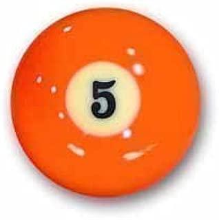 Bola de billar Número 5 bola de piscina Favoritos Número 5: Amazon ...