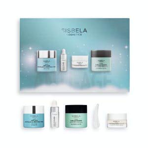 Sisbela Lote mujer Set de revitalizante 50 ml, crema cuello y escote 50 ml, contorno de ojos 15 ml y serum flash antiedad 10 ml