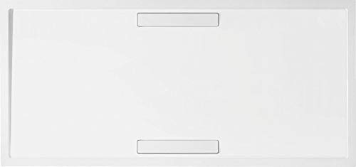 Villeroy & Boch Duschwanne Quaryl Rechteck Squaro 170x80x1,8cm weiß (alpin), UDQ1780SQR2V-01