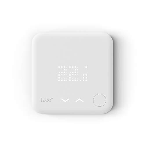 tado° Termostato Inteligente Cableado – Accesorio para control de habitaciones múltiples, control de calefacción inteligente, Instálalo tú mismo