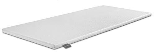 Traumnacht Komfort orthopädischer Matratzentopper, mit einem bequemem Komfortschaumkern in dem Härtegrad 3, 90 x 200 cm