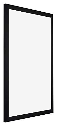 yd. - 70x100 cm - Bilderrahmen von Aluminium mit Sicherheitsglas - Ausgezeichneter Qualität - Schwarz Gebürstet - UV-beständige Glasplatte - Antireflex - Fotorahmen - Tucson.