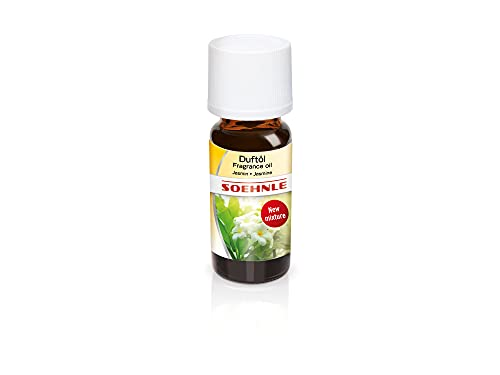 Soehnle Parfümöl Jasmin, Ätherische Öle für die Verwendung im Aroma Diffuser, Duftöl für die Raumbeduftung, Aroma Öl mit lieblichem, beruhigenden Duft, 10 ml