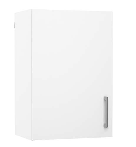 PEGANE Meuble de Cuisine Haut 1 Porte Coloris Blanc - Dim : L40 x P28 x H40 cm
