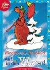 Windowcolor- Malbuch. Auf in den Winter. 2 in 1: Vorlagen und Folien.