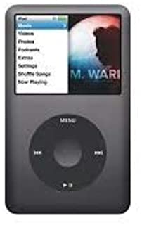 Music Player iPod Classic 6th Generation 80gb Black Packaged in Plain White Box
