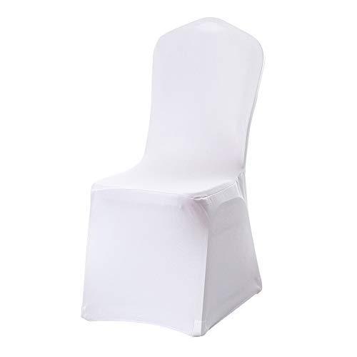GNEGNI Stuhlhussen Weiß 45x45x95cm 20 Stück Hochzeit Bankettstuhl