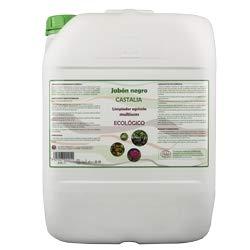 Castalia - Jabón Negro Ecológico - Formáto 20 litros - Potencia la acción de Productos fitosanitarios Frente a plagas como pulgón, Mosca Blanca, araña roja o Trips.