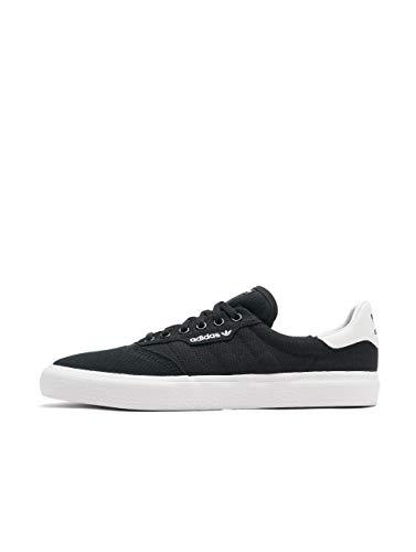 adidas 3Mc, Scarpe da Skateboard Uomo, Nero (Cblack/Cblack/Ftwwht Cblack/Cblack/Ftwwht), 48 2/3 EU