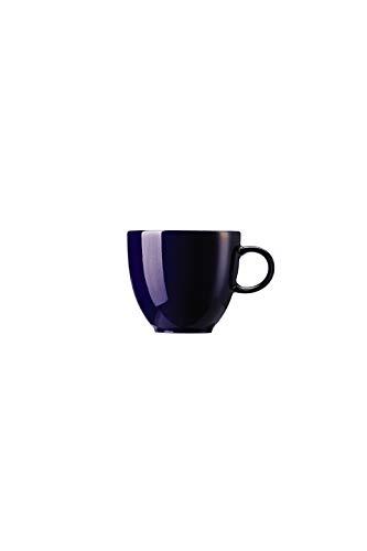 Thomas Sunny Day Espressotasse, Mokkatasse, Porzellan, Cobalt Blue / Blau, Spülmaschinenfest, 80 ml, 14722