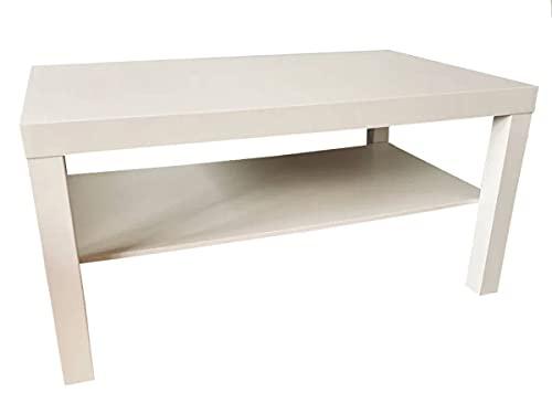 Ikea Lack - Tavolino da salotto, 90 x 55 cm, colore: bianco