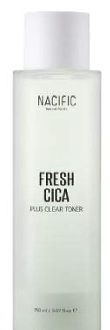 エール消費するドキドキ[NACIFIC] Fresh Cica Plus Clear Toner/フレッシュシカプラスクリアトナー [並行輸入品]