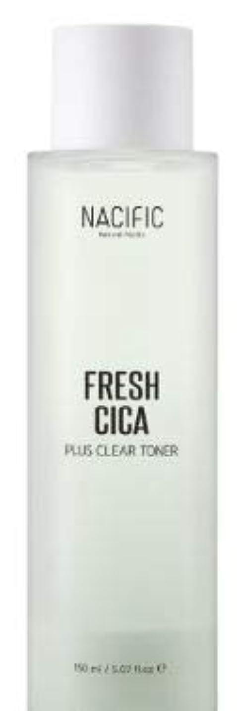 反抗評価可能アカウント[NACIFIC] Fresh Cica Plus Clear Toner/フレッシュシカプラスクリアトナー [並行輸入品]