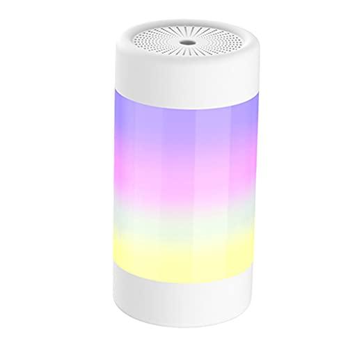 gazechimp Difusor de aceite esencial de aroma de 300 ml, humidificador, configuración de temporizador, luz nocturna colorida para el hogar, oficina, sala de - Rosado