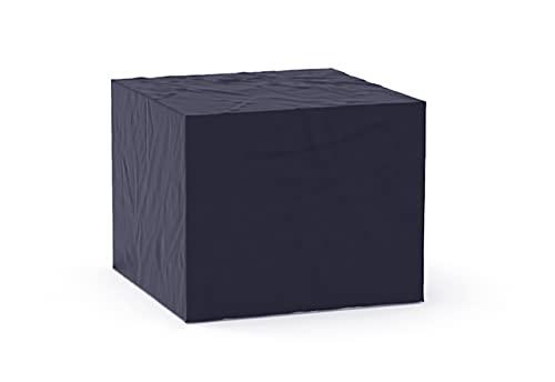 GREEN CLUB Housse De Protection pour Fauteuil de Jardin Haute Qualité Polyester L 90 x l 80 x h 60 cm Couleur Anthracite