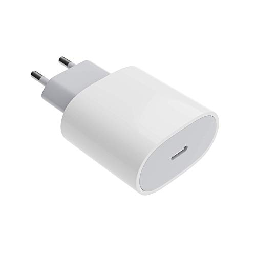 Schnellader USB-C mit Quick Charge-Technik für bis zu 4X schnelleres Aufladen, Schnelladegerät 20W für viele aktuelle Smartphones, Tablets etc.