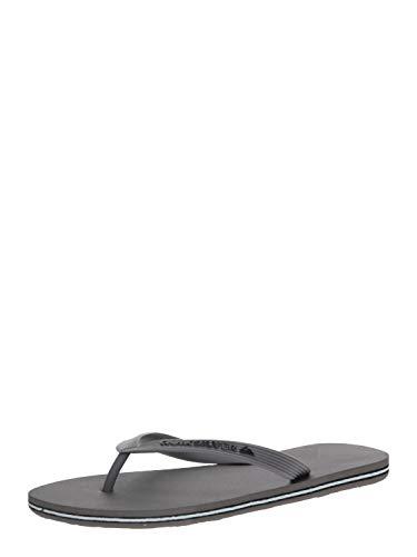 Quiksilver Molokai, Zapatos de Playa y Piscina Hombre, Gris (Grey Xsss), 45 EU
