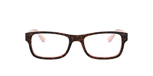 Ray-Ban Rx5268 Gafas, HAVANA ON OPAL PINK, 50 Unisex