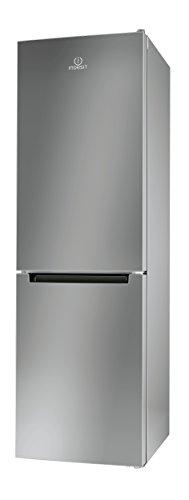 Indesit LR8 S1 S Libera installazione 228L 111L A+ Argento frigorifero con congelatore
