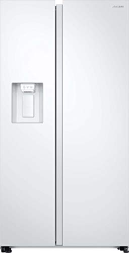 Samsung RS8000 RS68N8231WW/EF Side-by-Side / 617 L/Weiß/Space Max/Twin Cooling+ / Wasser- und Eisspender/No Frost+ / Platzsparender In-Door Icemaker/Flaschenregal