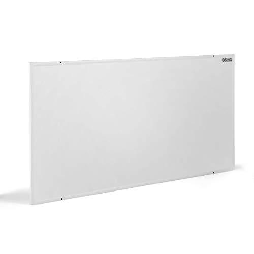 COSTWAY 1050W Infrarotheizung, Elektrische Wandheizung, Konvektorheizung Überhitzungsschutz, Heizkörper für 20m² / 80-100 ℃ (122 x 92 x 1,5 cm)