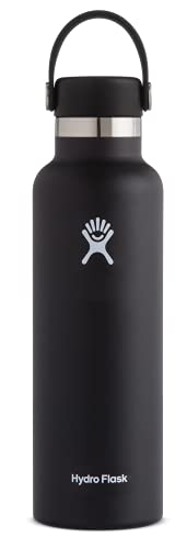 Hydro Flask 18 oz. Water Bottle - Stainless Steel, Reusable, Vacuum...