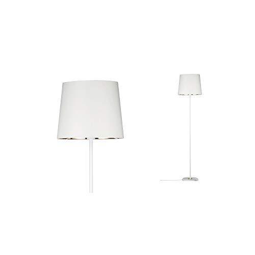 Paulmann Neordic Enja staande lamp max. 1x20W vloerlamp voor E27 lampen vloerlamp met stoffen kap 230V zonder lampen, stof