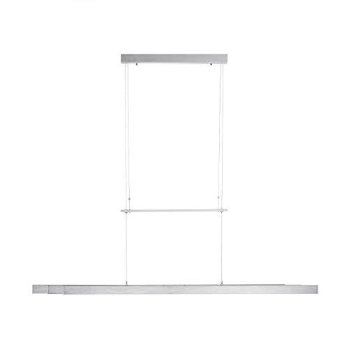 LED Pendelleuchte 120-179 cm ausziehbar | Hängeleuchte mit Farbtemperatursteuerung CCT, Touchdimmer | Pendellampe höhenverstellbar für Wohnzimmer Küche Esszimmer