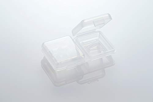 『医療用樹脂のノンアレルギーピアス アレルギー予防シークレット透明ピアス リメイン (5個セット)』の5枚目の画像