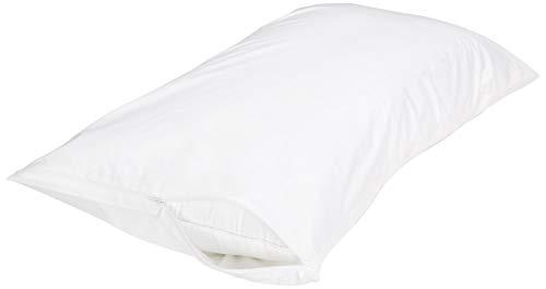Amazon Basics 100% Cotton Hypoallergenic Pillow...